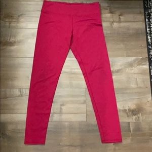 FABLETICS: Red Workout Leggings